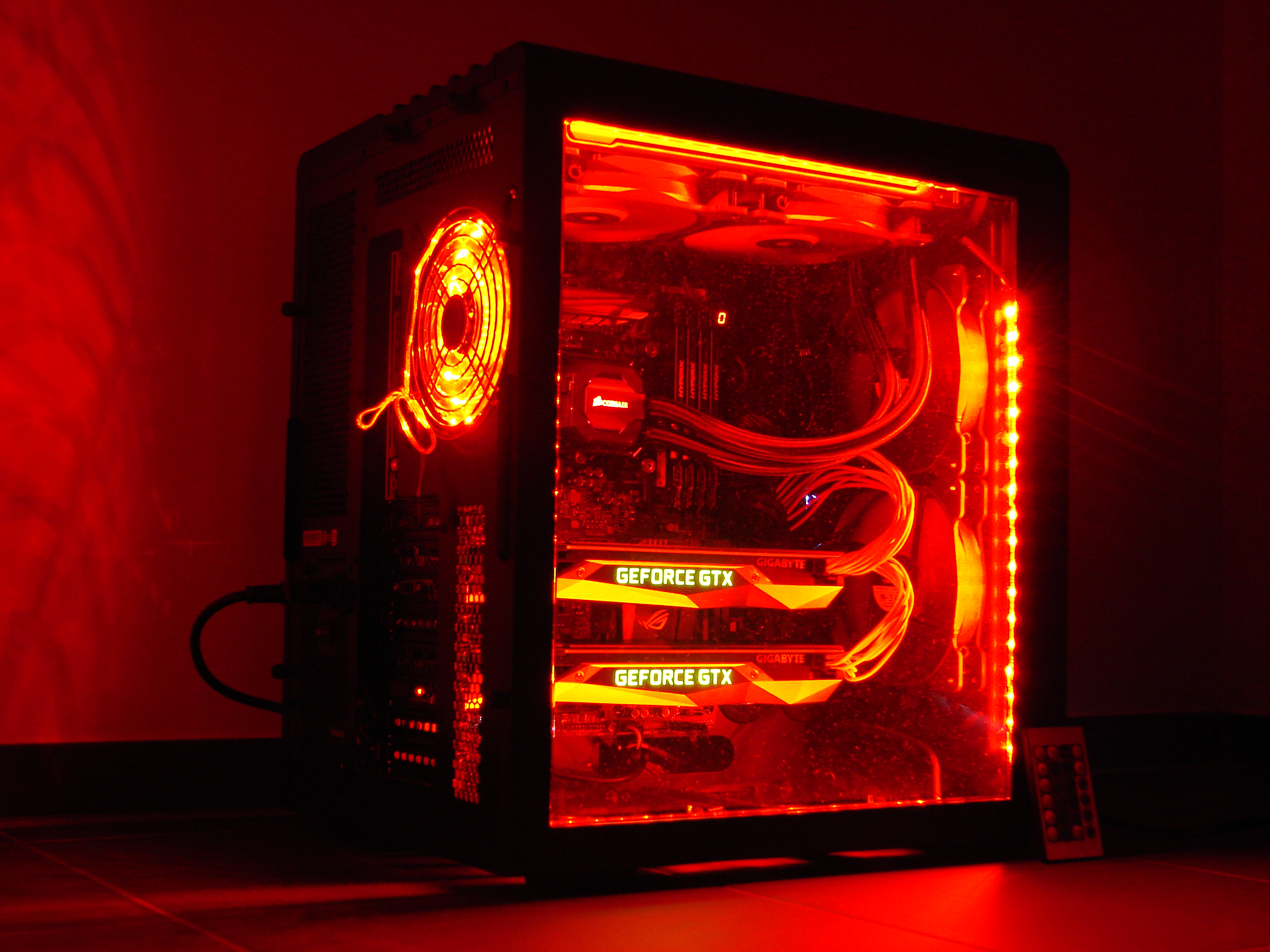 Battlebox Light mit in roter Farbe