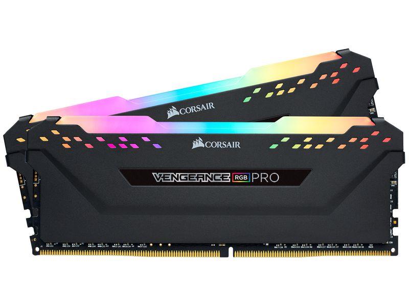Corsair Vengeance RGB PRO Black DDR4-RAM 3200 MHz 2x 8 GB