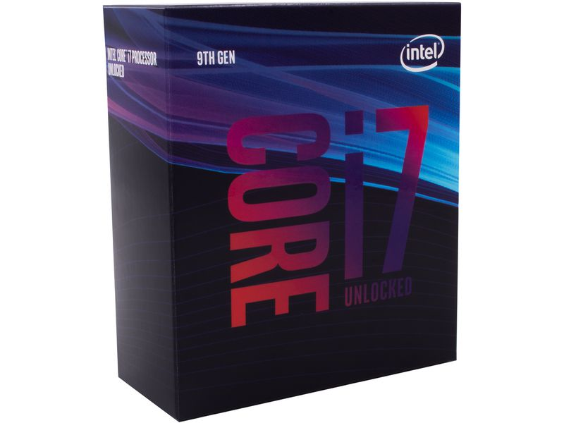 Intel CPU Core i7-9700K 3.6 GHz