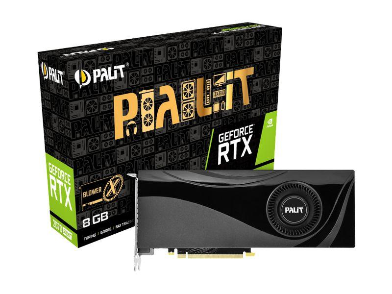 Palit Grafikkarte GeForce RTX 2070 Super X 8GB